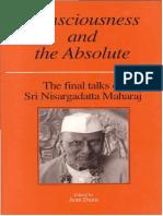 Nisargadatta Maharaj, Nisargadatta, Jean Dunn,-Consciousness and the Absolute_ the Final Talks of Sri Nisargadatta Maharaj (1994)