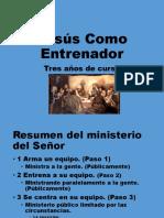 Jesús Como Entrenador 1
