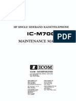 Icom IC-M700 Service Manual