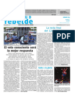 PORTADA Juventud Rebelde SABADO 3 DE MARZO 2018