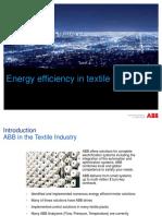 ABB Energy Efficiency Portfolio in Textile