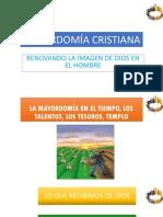 Mayordomía Cristiana Del Tiempo Lunes