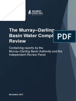 Murray Darling Basn Compliance Review Final Report, November 2017