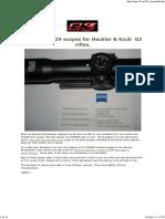 HK G3 Hensoldt scopes ©mg-42