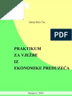 Praktikum Za Vjezbe Iz Ekonomike Preduzeca (Bico Car)