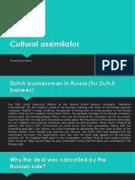 Cultural Assimilator Zhuravleva