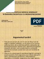prezentare bronhopneumonie