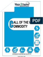 Commodity Research Report 05 March 2018 Ways2Capital