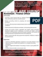 Accountant AD PMO March 2018
