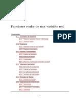 Funciones reales de una variable real