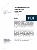 2000 - George Tsebelis, Geoffrey Garrett - Legislative Politics in the European Union