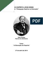 Apostila Seminario Pedagogia 2014