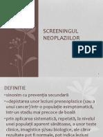 8.Screeningul in Cancer 2017