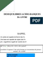 DESEQUILIBRES ACIDO-BASIQUES