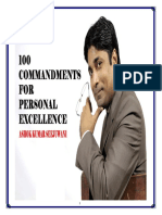 100 Commandments for Personal Excellence