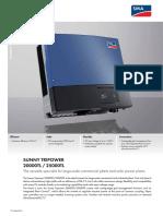 Datasheet Inverter 25000TL