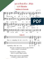 Cânticos da Missa da Exaltação da santa Cruz