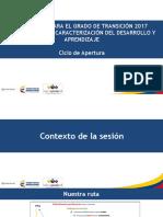 Presentación Del Instrumento de Caracterización Transición