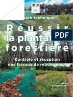 Guide Reussir La Plantation Forestiere