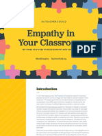 Empathy in Your Classroom Teachers Guild