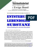 BWB 225-EB 163 Lebendige Substanz