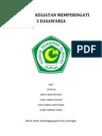 Proposal Kegiatan Memperingati 3 Dasawarsa-ipa4