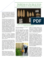Guidelines on Use of Urine and Faeces in Crop Production