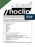 noclip devtales assignment brief 2018