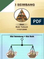 Presentasi Gizi Seimbang (1)
