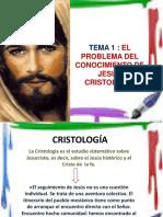TEMA 1 Que Entendemos Por Cristologia
