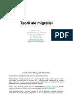 Teorii Ale Migratiei (2)
