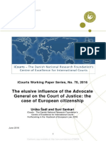The elusive influence of the Advocate General on the Court of Justice