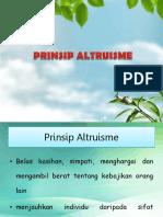 Prinsip Altruisme