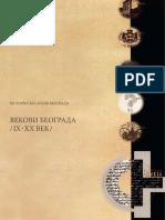 Katalog Vekovi Beograda Srpski