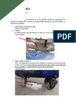 Inf. Mntto - Estado Compresor de Aire