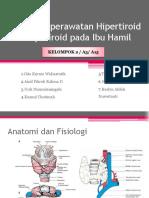 Asuhan Keperawatan Hipertiroid Dan Hipotiroid Pada Ibu Hamil
