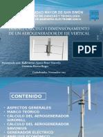 diseño aerogenerador de eje vertical