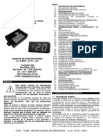 Manual de Instrucciones TLB30 r0