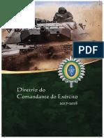 Diretriz Do Comandante Do Exército 2017-2018