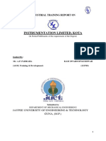 Trainingreportinstrumentationlimitedkota 150822082455 Lva1 App6892