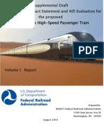 Supplemental DEIS for DesertXpress High-Speed Train