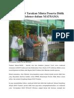 a. 22 Juli 2016 Kepala MAN Tarakan Minta Peserta Didik Baru Zero Violence dalam MATSAMA.docx