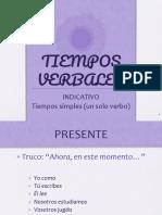 Trucos para aprender los verbos (indicativo)