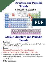 Atomic Structure 2009 Handouts Final
