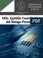 MSc. en Gestión Cuantitativa UNI