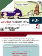 WASPADA SINDROM METABOLIK