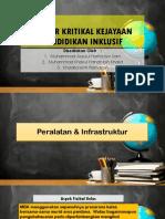 Faktor Kritikal Kejayaan Pendidikan Inklusif