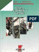 Immanuel Wallerstein, Etienne Balibar.-raza, Nación y Clase