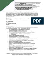 PP-E 43 01-01 Protocolo de Inspección Técnica de vehículos que laboran en MYSRL V 12.docx