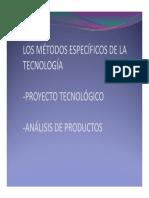 01 - Metodos Especificos de La Tecnologia